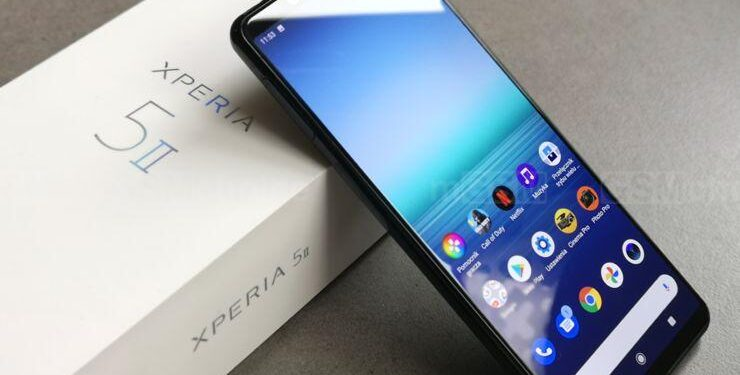 Sony Xperia 5 II Android 11