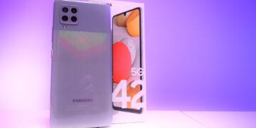 Samsung Galaxy A42 5G dojmovi unboxing