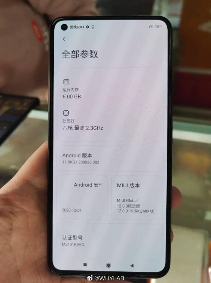 Xiaomi Mi 11 live fotografije