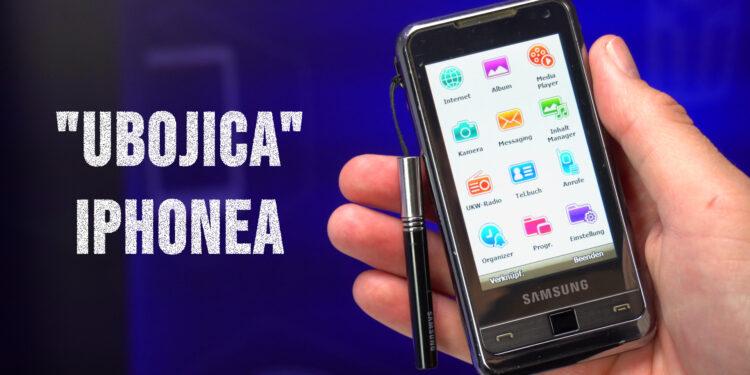 Samsung Omnia i900 - Samsungov prvi telefon sa ekranom osjetljivim na dodir