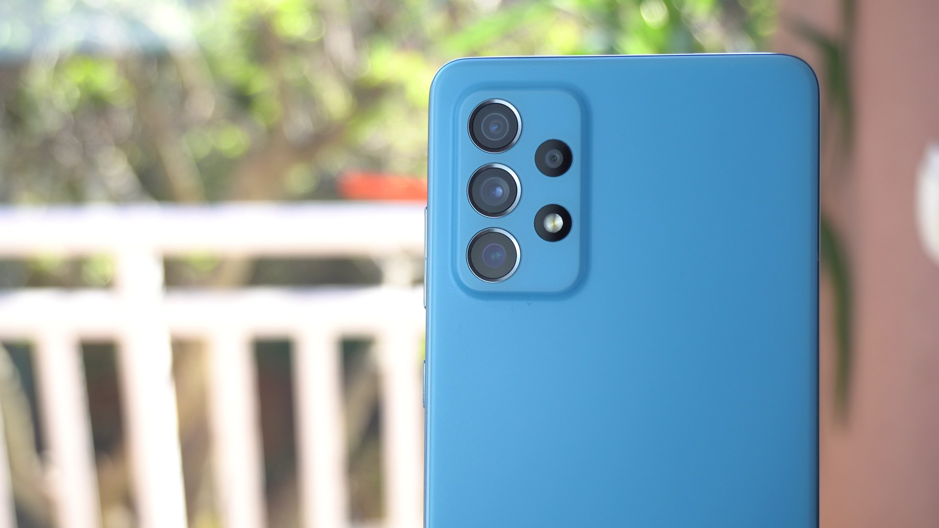 Samsung Galaxy A72 recenzija - kamere