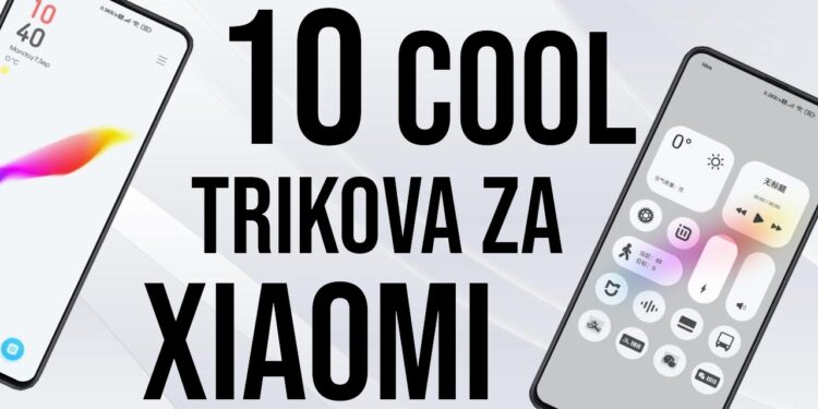 Trikovi za Xiaomi telefone MIUI